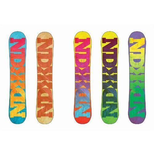 Pozostałe snowboard, snowboard NIDECKER - Snowboard Random Multi (MULTI) rozmiar: 158