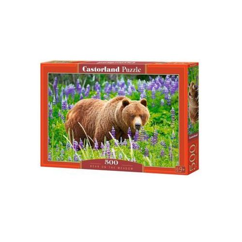Puzzle, Puzzle Bear on the Meadow 500 - Castor