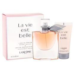 Lancome La Vie Est Belle W Zestaw perfum Edp 50ml + 50ml Balsam