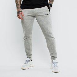 GymBeam Spodnie dresowe Slimfit Grey