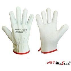 Rękawice ochronne ze skóry licowej koziej w naturalnym kolorze DRIVER 10