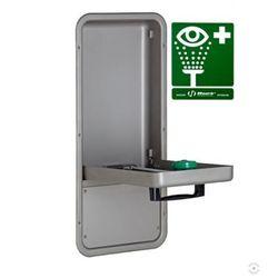 Oczomyjka, myjka do oczu i twarzy (LABO) montowana w szafce we wnęce ściennej, wylewka Axion MSR, zamknięta, n/spraw