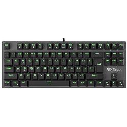Klawiatura Genesis Thor 300 TKL przewodowa zielone podświetlenie dla graczy