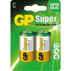 2 x bateria alkaliczna GP Super Alkaline LR14/C