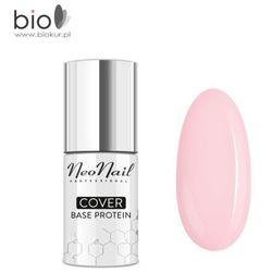 NOWOŚĆ! Lakier hybrydowy Cover Base Protein Nude Rose NeoNail – 7,2 ml