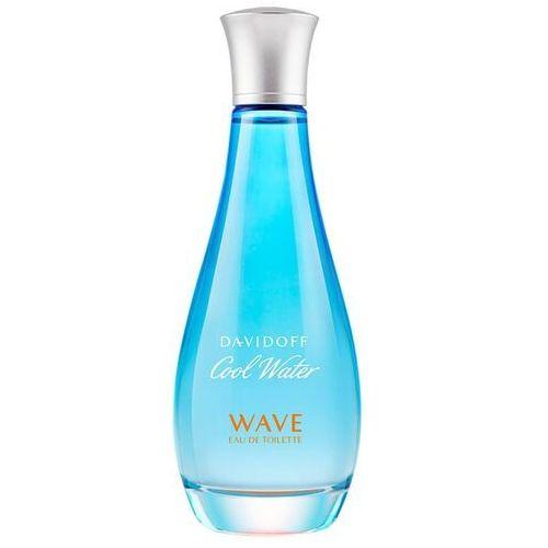 Wody toaletowe damskie, Davidoff Cool Water Woman Wave woda toaletowa - 100ml - Zostań naszym Fanem na Facebooku i zgarniaj nagrody