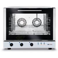 Piece i płyty grzejne gastronomiczne, Piec konwekcyjny z nawilżaniem 4x GN 1/1 | elektryczny | sterowanie manualne | 400V | 6,4kW
