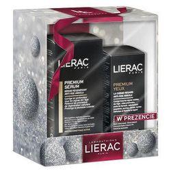 LIERAC Premium Serum intensywnie regenerujące 30ml + Premium Przeciwstarzeniowy krem pod oczy 15ml Gratis!