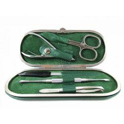 ANILIN METALIC GREEN - 5-częściowy zestaw do manicure, SOLINGEN-Kiehl