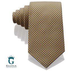Złot włoski krawat jedwabny Arcuri 14801/16