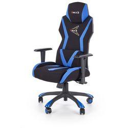 Fotel dla gracza gamingowy HALMAR STIG czarny/niebieski