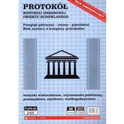 Protokół z okresowej kontroli obiektu budowlanego [Pu/Pb-55]