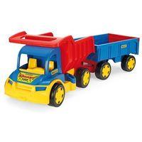 Wywrotki dla dzieci, Gigant Truck Wywrotka z przyczepa 107 cm