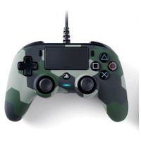 Gamepady, Kontroler NACON Wired Compact Controller Camo Green do PS4