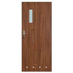 Drzwi z tulejami Everhouse Roma 70 prawe akacja
