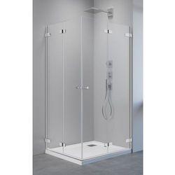 Radaway Arta KDD B drzwi prysznicowe 80 cm lewe do kabiny narożnej dwudrzwiowej 386160-03-01L
