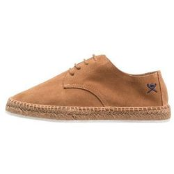 Hackett London LACEUP Espadryle tan