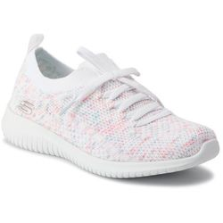 Buty SKECHERS - Happy Days 13101/WPKB White/Pink/Blue