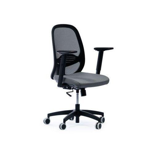 Fotele i krzesła biurowe, Fotel Quatro Net D7 antracyt