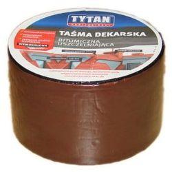Taśma dekarska Tytan 10x10 cm brązowy