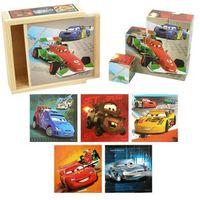Zabawki z drewna, Klocki drewniane BRIMAREX Cars