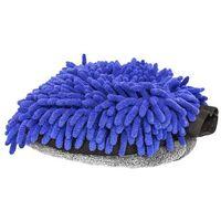 Pozostałe kosmetyki samochodowe, RRC Rękawica z mikrofibry niebiesko-szara do mycia samochodu