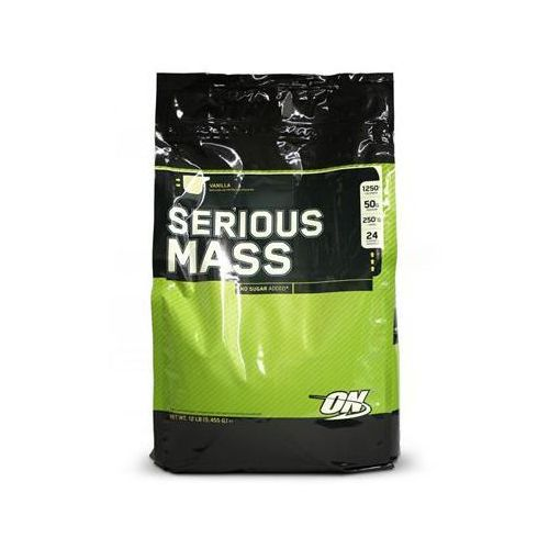 Gainery, OPTIMUM NUTRITION Serious Mass - 5500g - Strawberry