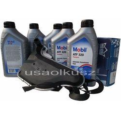 Filtr oraz olej skrzyni biegów Mobil TAF320 Oldsmobile Silhouette 3,4 / 3,8