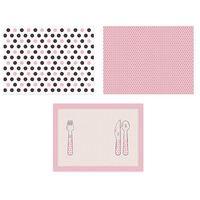 Podkładki na stół, Podkładki papierowe Sweets - 40x30 cm - 6 szt.