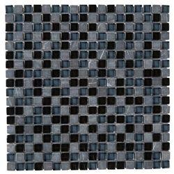 Mozaika Barya Colours 30 x 30 cm black