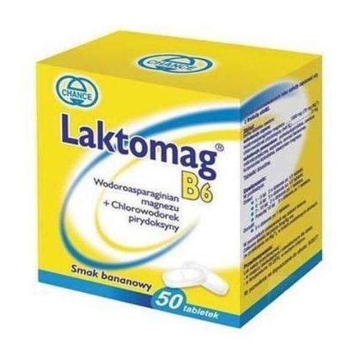 Witaminy i minerały, Laktomag B6 x 50 tabl.