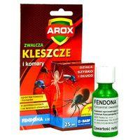 Środki na szkodniki, Oprysk na kleszcze w ogrodzie. Preparat Arox Fendona 25ml.