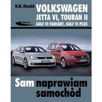 Biblioteka motoryzacji, Volkswagen Jetta VI od VII 2010, Touran II od VIII 2010, Golf VI Variant od X 2009, Golf V (opr. kartonowa)