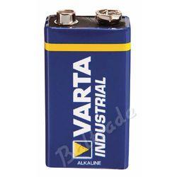 1x bateria alkaliczna Varta Industrial 6LR61/9V 4022 (folia OEM)