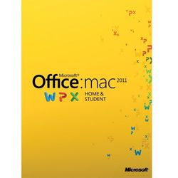 Microsoft Office Home and Student 2011 MAC PL