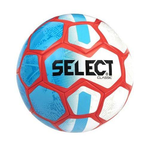 Piłka nożna, SELECT piłka FB Classic rozm. 5 biała/niebieska