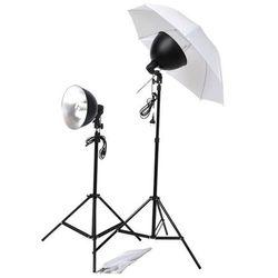 vidaXL Zestaw do oświetlenia studyjnego z parasolkami, kloszami i statywami Darmowa wysyłka i zwroty