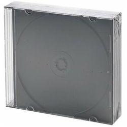 Pudełko na płyty CD/DVD HEITECH 5 szt. Slim Czarny