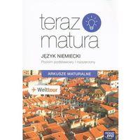 Książki do nauki języka, Teraz matura. J.niemiecki. Arkusze maturalne ZPiR (opr. miękka)