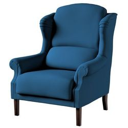 Dekoria Fotel Unique, Ocean Blue (morski niebieski), 85×107cm, Cotton Panama