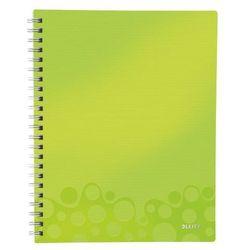 """Notatnik z przekładkami """"Get Organised"""" LEITZ WOW A4 w kratkę zielony"""