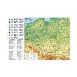 Polska Mapa ogólnogeograficzna i administracyjno-samochodowa; mapa ścienna 1:1 400 000. Darmowy odbiór w niemal 100 księgarniach!