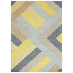 Dywan Reef RF02 Big Zig Ochre Grey 66x200