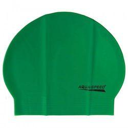 Czepek pływacki lateksowy Aqua Speed zielony
