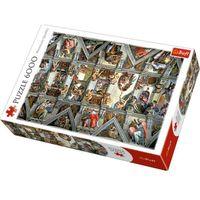 Puzzle, Puzle Sklepienie Kaplicy Sykstyńskiej 6000