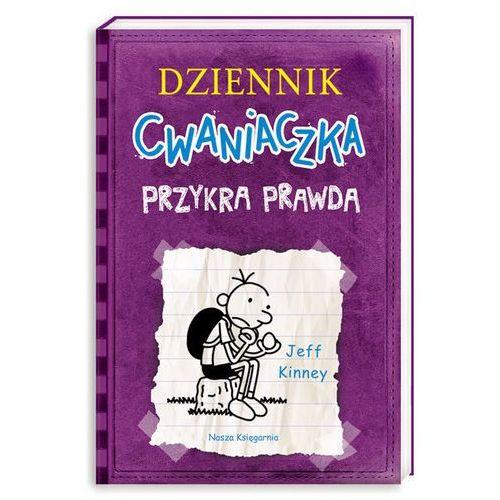Książki dla dzieci, Dziennik cwaniaczka 5. Przykra prawda (opr. miękka)