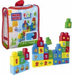 Mega Bloks Klocki Buduj i ucz się liczyć - EKO torba - 30 szt.