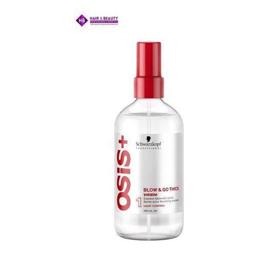 Stylizowanie włosów, Schwarzkopf OSiS+ Blow&Go, spray przyspieszający suszenie, 200ml
