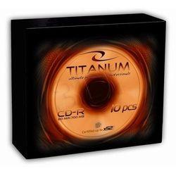 Titanum CD-R/10/Slim 700MB/80Min Darmowy odbiór w 16 miastach!