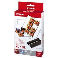 Papiery i folie do drukarek, Canon papier termosublimacyjny KC18IL, KC-18IL, 7740A001AH, 22 mm. x 17,3 mm.